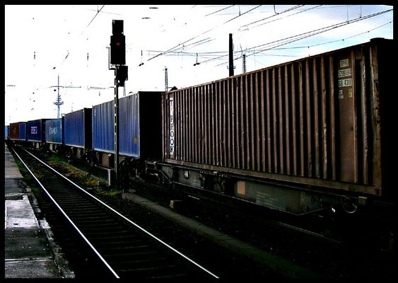 Container-Zug