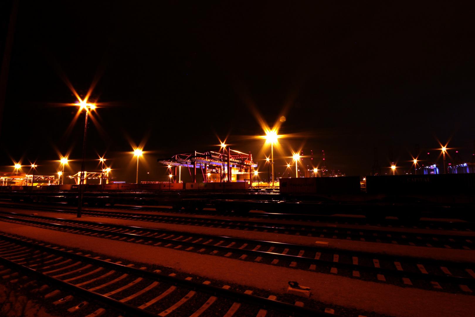 Containerbahnhof Hamburg