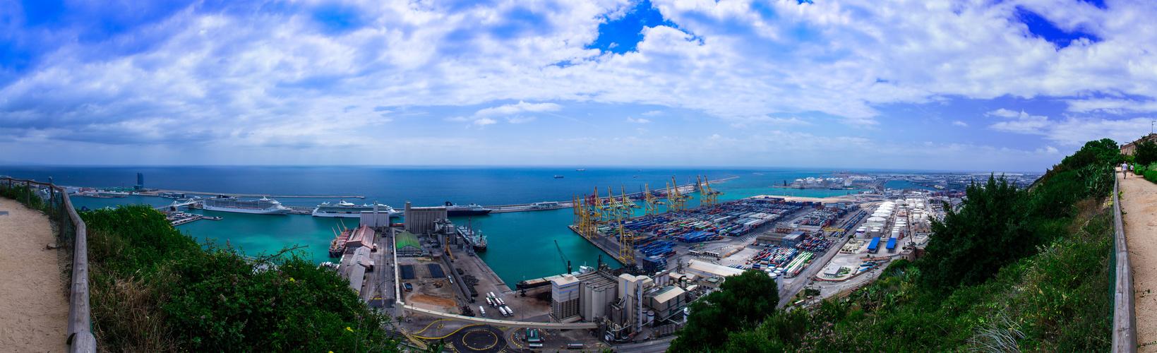 Containerhafen Barcelona