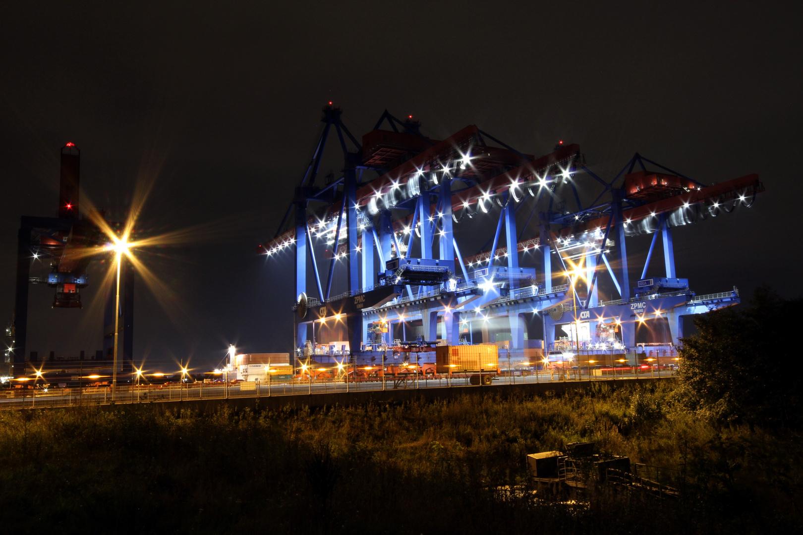 Containerkräne Hamburg