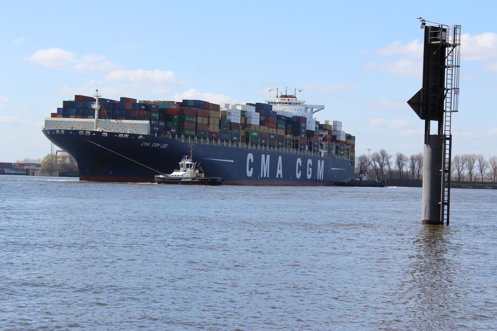 """Containerschiff """"CMA CGM"""""""