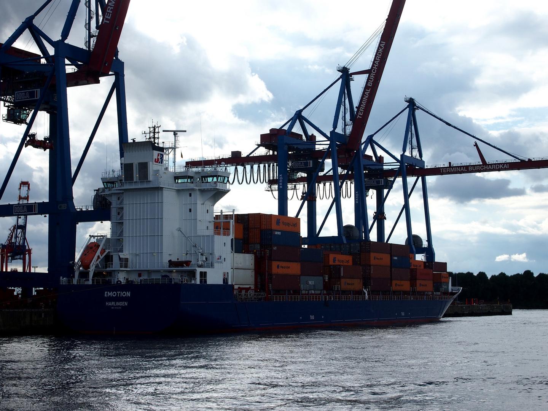 Containerschiff Emotion