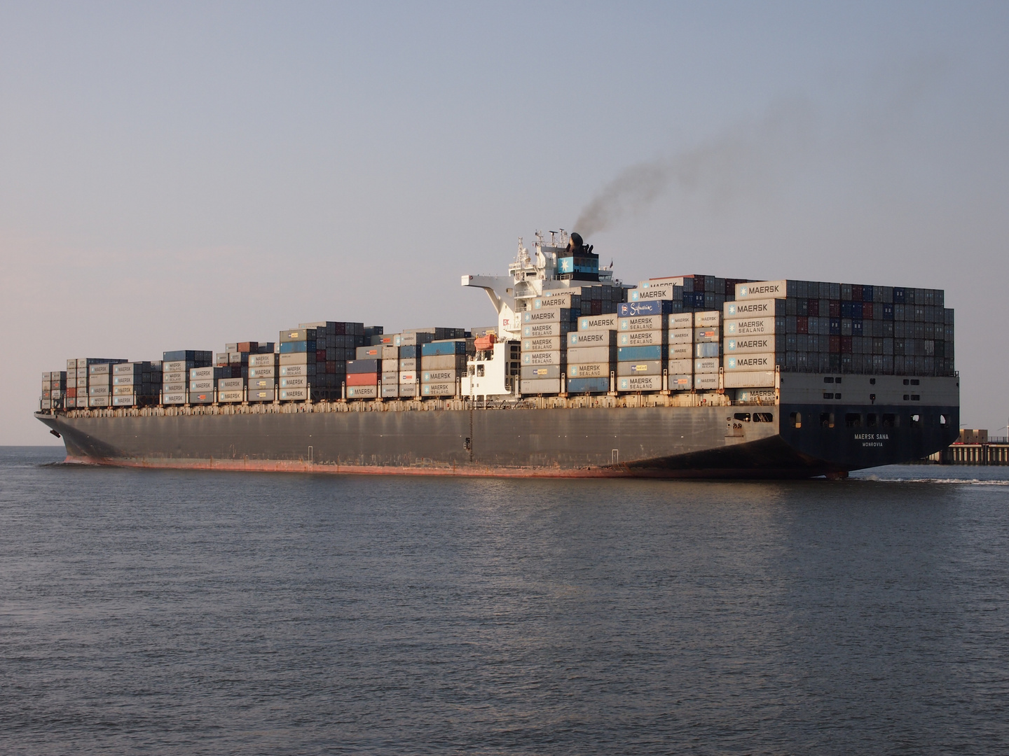Containerschiff Maersk Sana