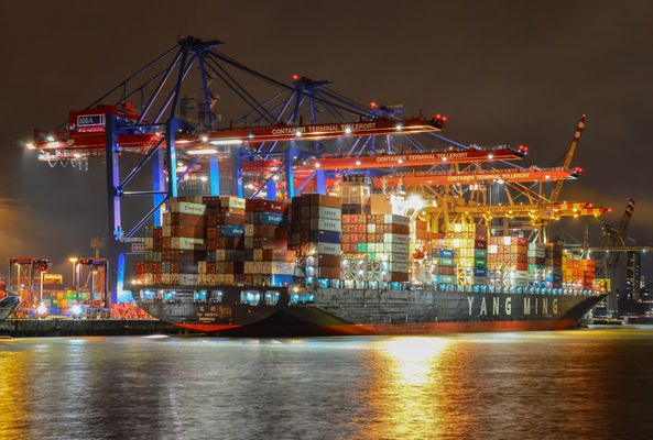 Containerschiff YAN MING UBERTY