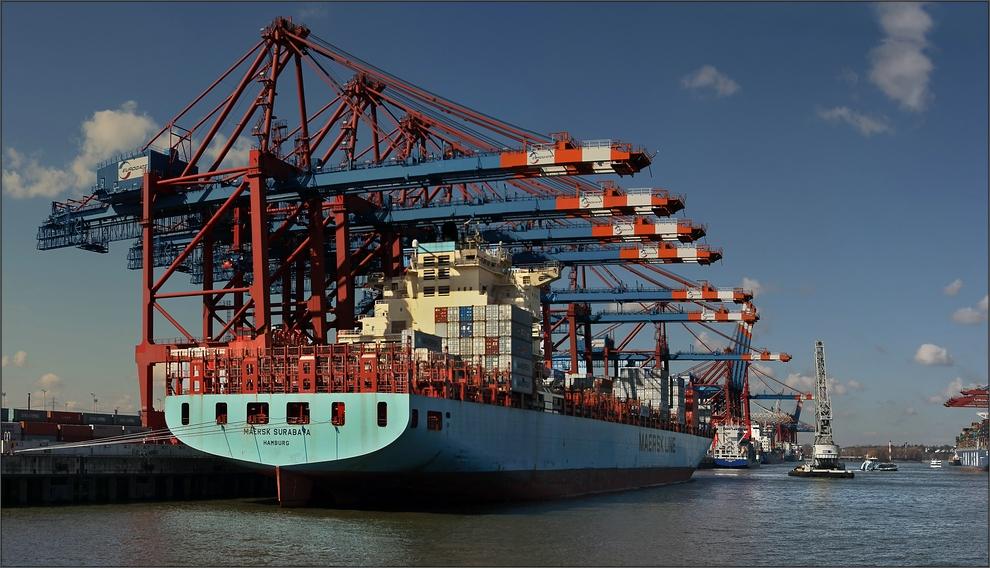 * Containerterminal *