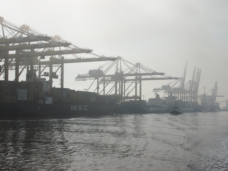Containerterminal Bremerhaven