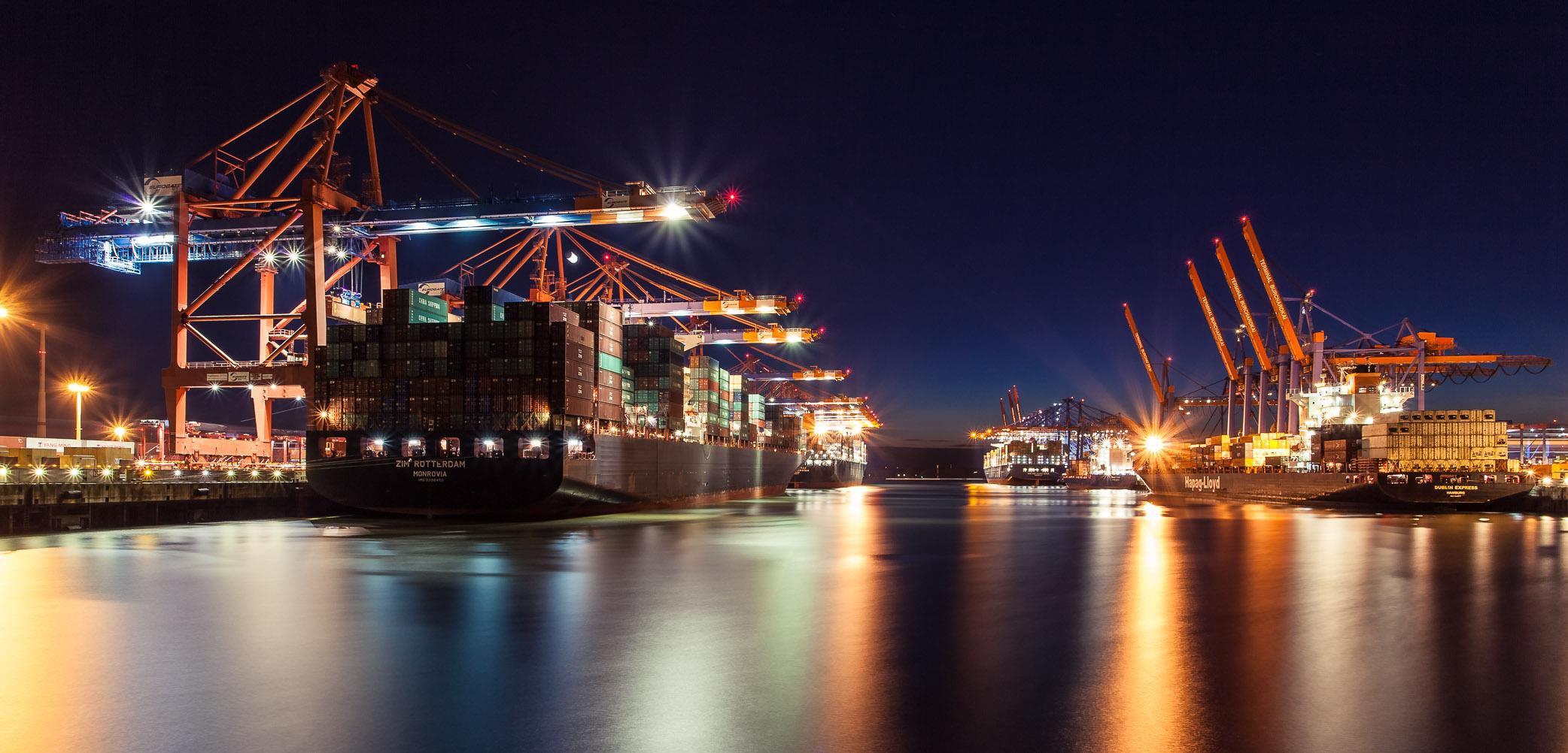 Containerterminals Hamburg