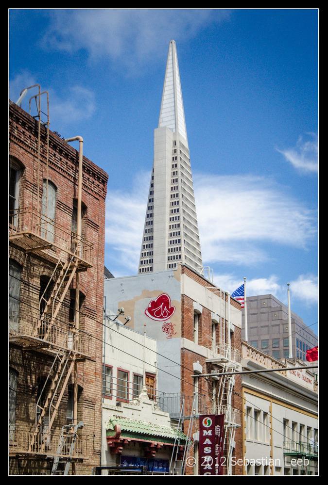 Contrast in San Francisco