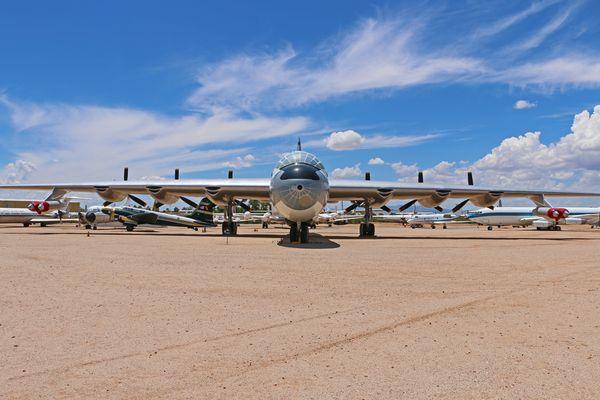 CONVAIR B-36J PEACEMAKER FRONT