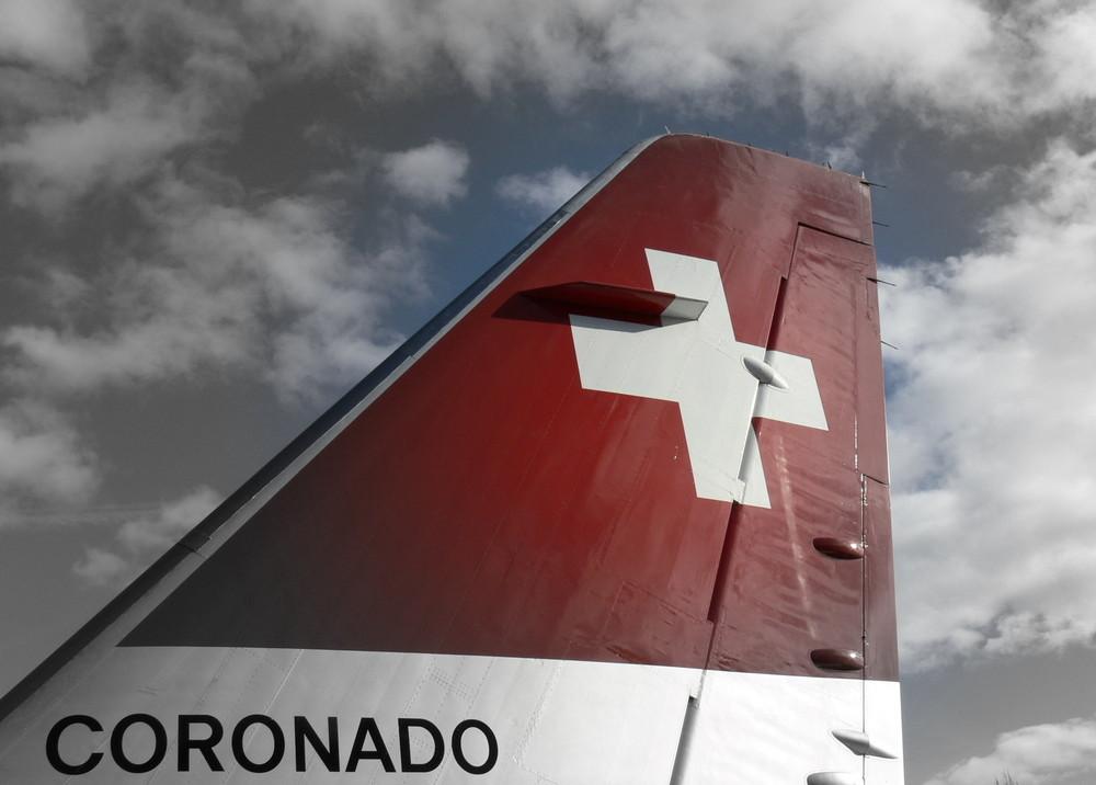 """Convair """"Coronado"""" im Verkehrshaus Luzern"""