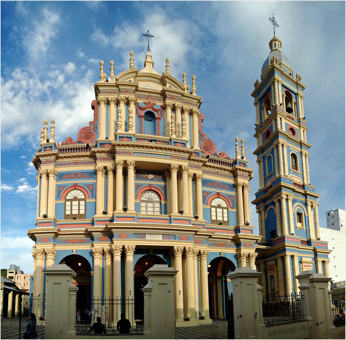 Convento de San Bernardo in Salta...................