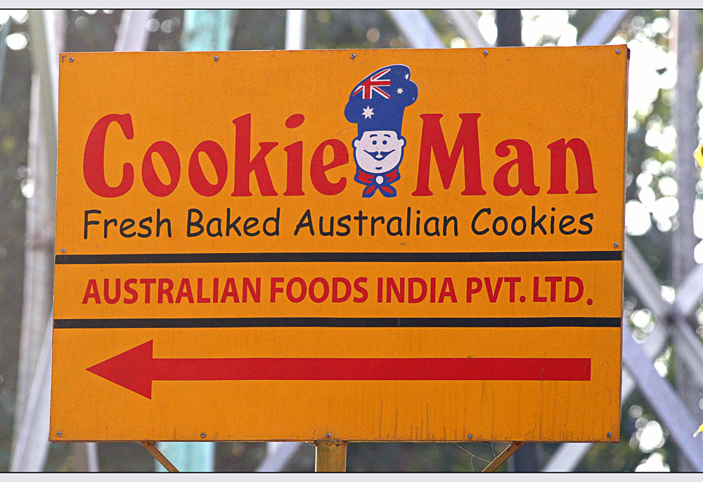Cookie Man in India