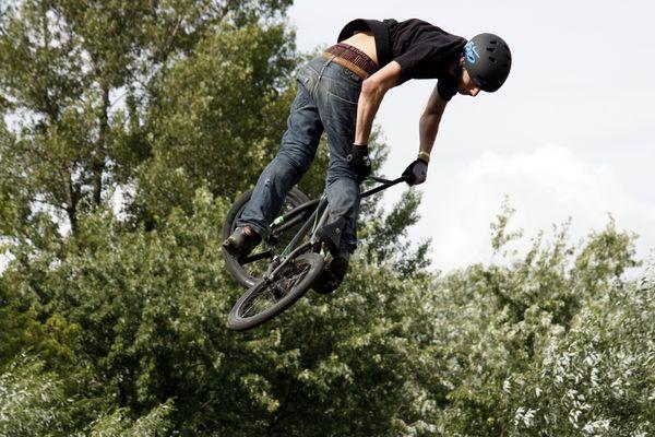 Cool BMX Trick