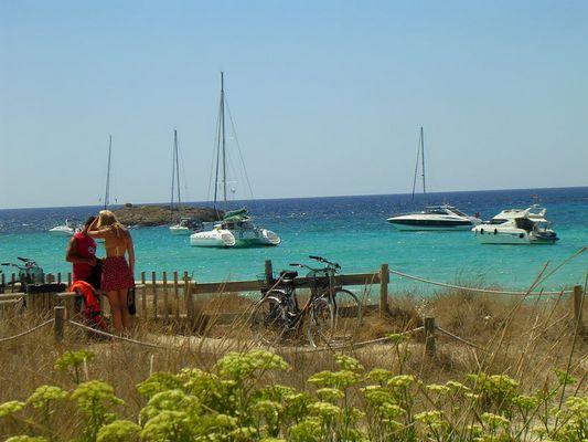 Cool location in Formentera