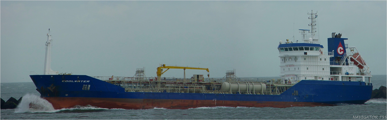 COOLWATER /Oil/chemical Tanker / Maasmond / Rotterdam
