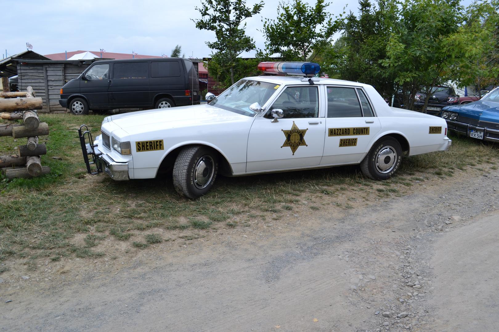 Cop Car Hazzard County