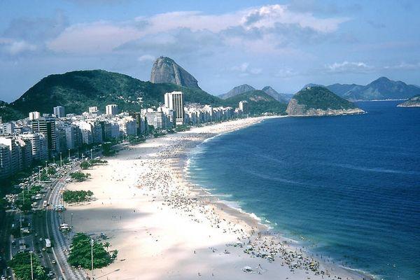 Copacabana  vom Hoteldach