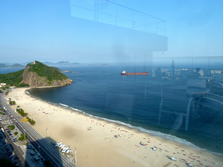 Copacabana.. Zimmer mit Ausblick