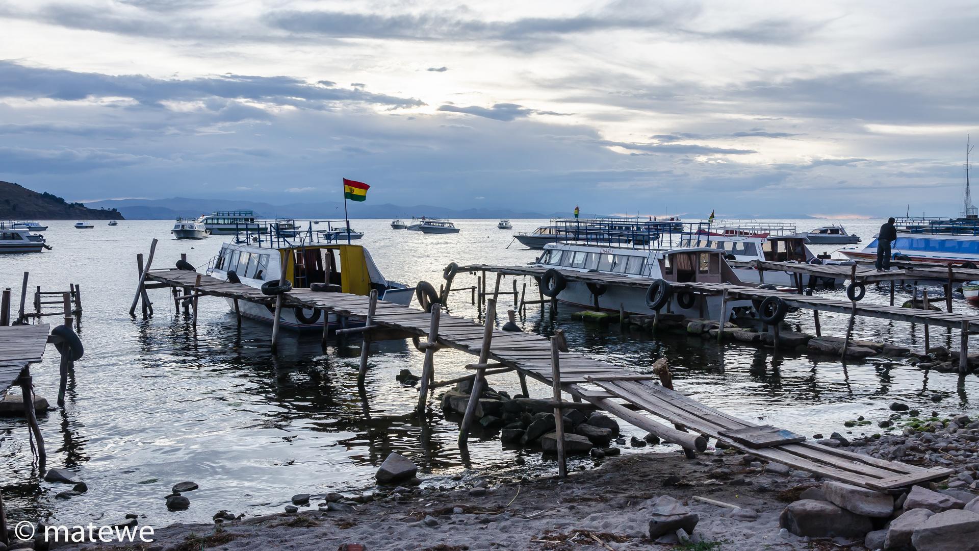 Copacabana/Bolivien - Hafen