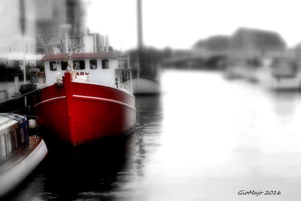 Copenhagen in red