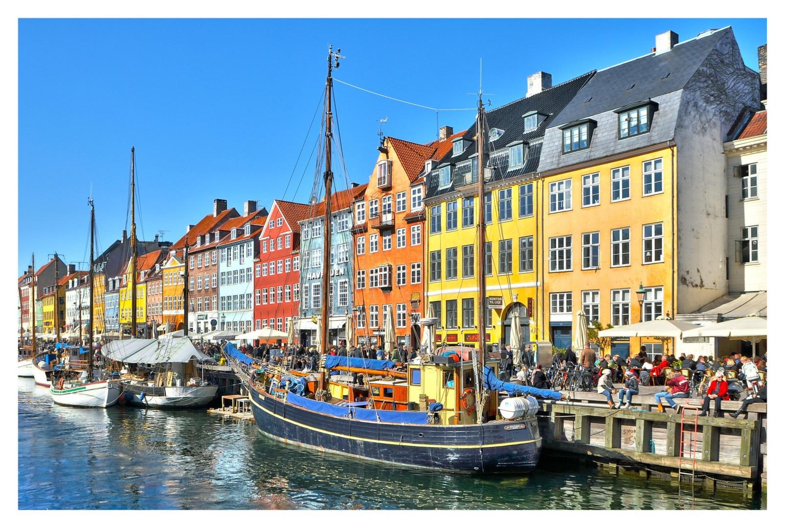Copenhagen, kurz vor dem Schneesturm