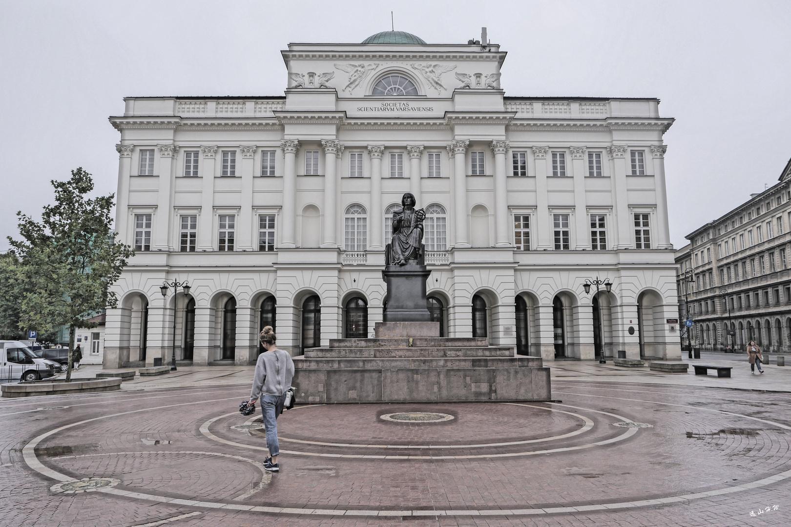 Copernicus's statue,Warsaw
