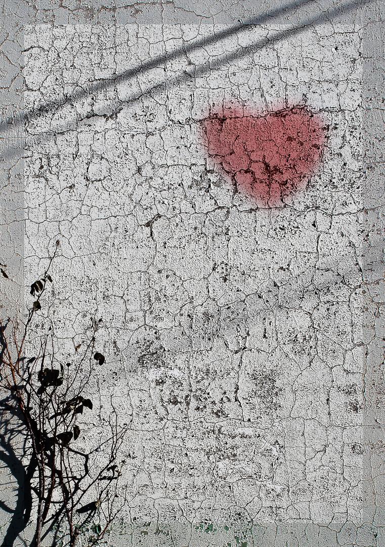 corazón de tiza