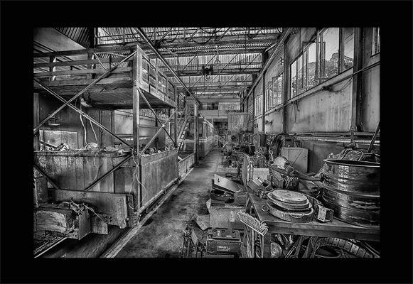 Corcovado Zahnradbahn - die Werkstatt