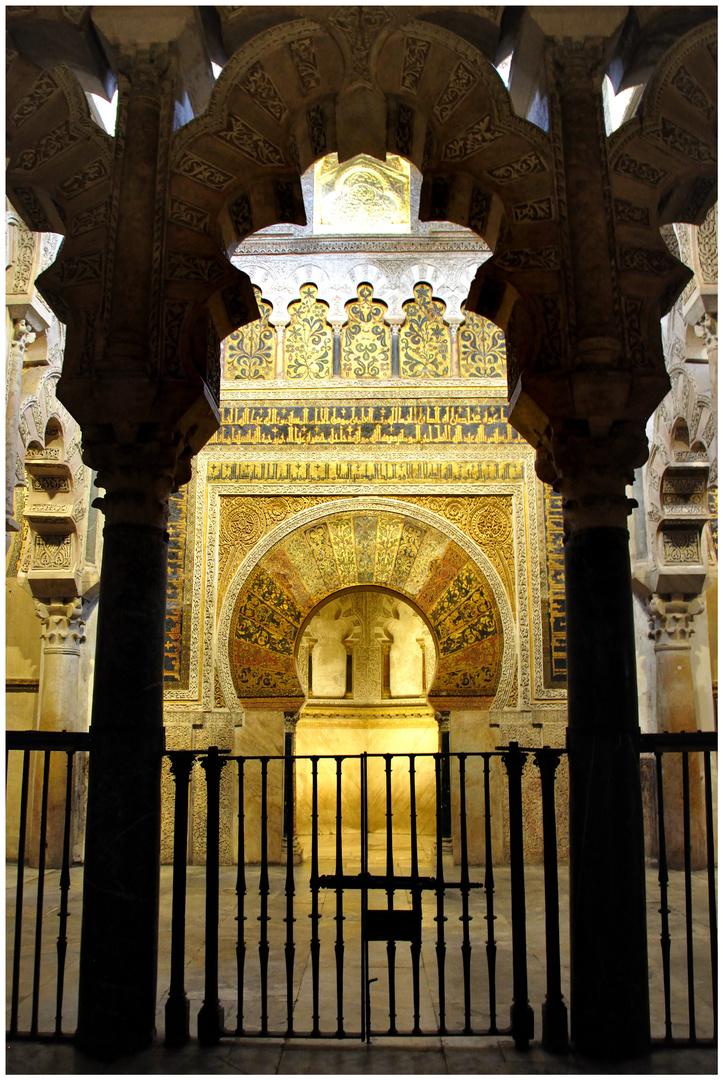 Cordoba - Der Mihrab in der Mezquita