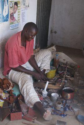 Cordonnier à Samba Dia Sénégal