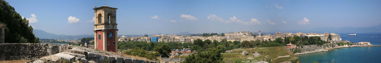 Corfu Altstadt Pano