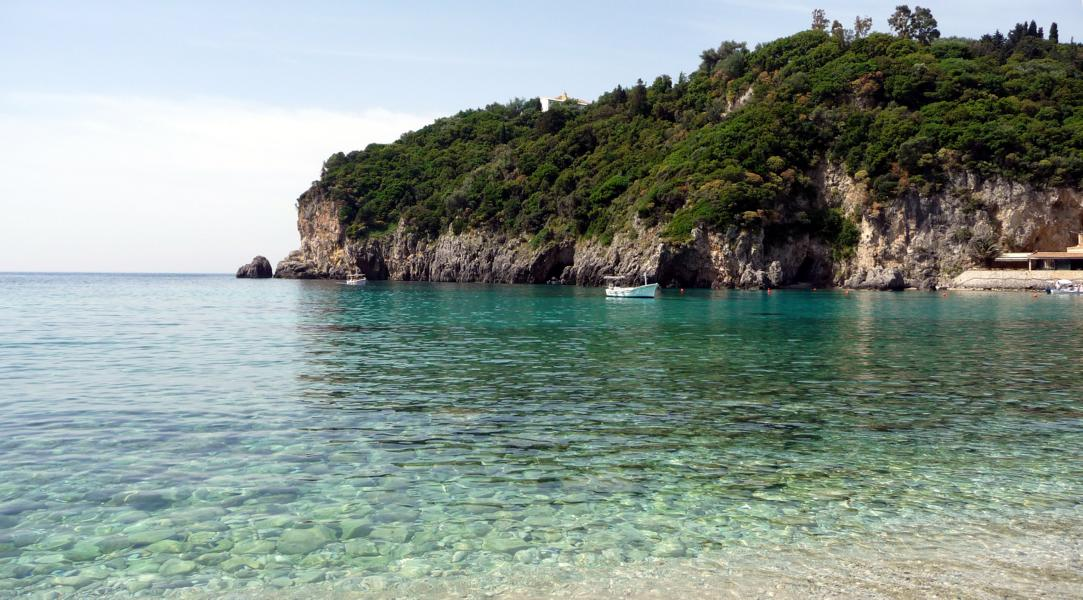 Corfu Beach - Traumhafte Bucht auf Korfu