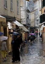 Corfu in the Rain 1