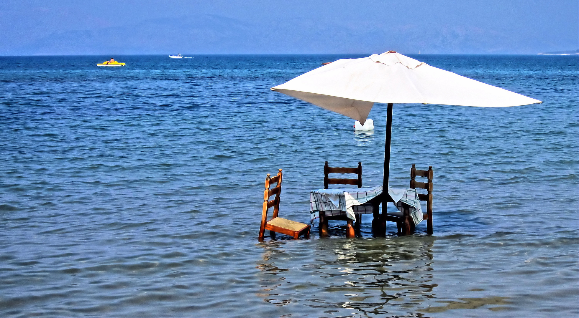 Corfu - Roda- eine Strandtaverne einmal anders