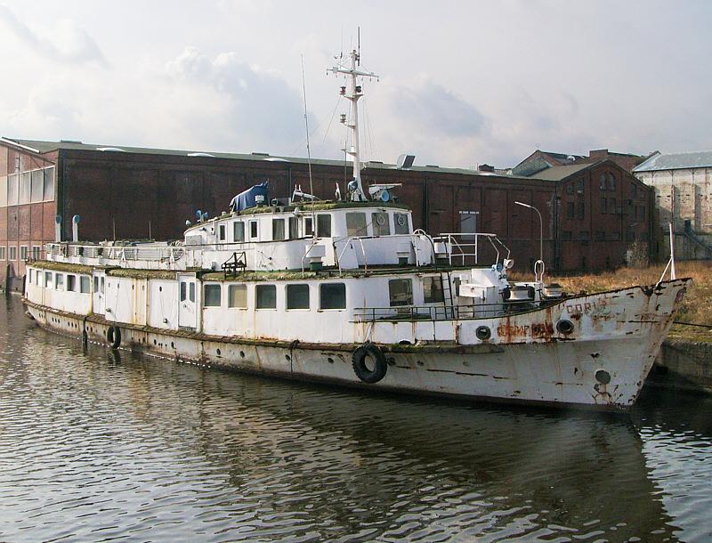 CORI-  ex SEEBAD BINZ - Ausflugsschiff der Weißen Flotte, DDR