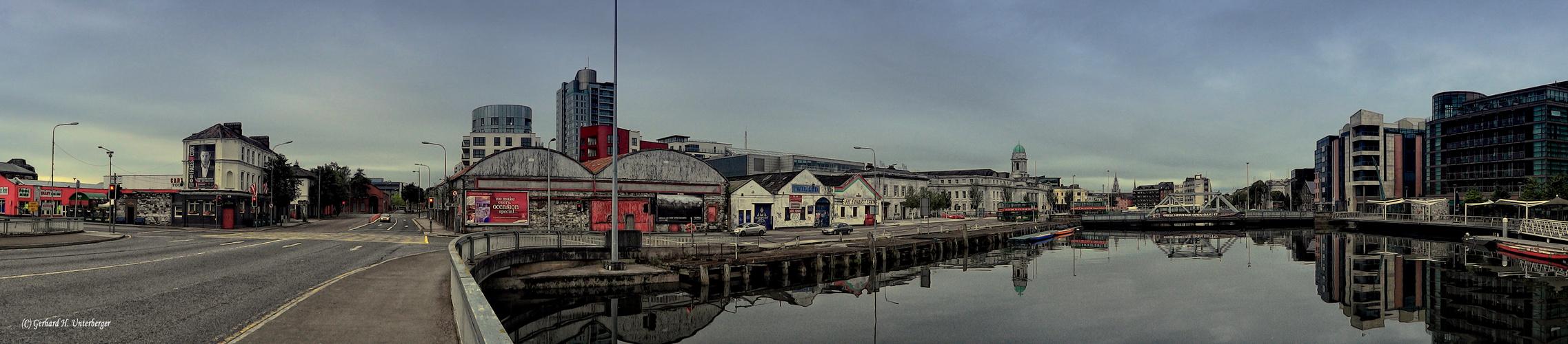 Cork Hafenpanorama