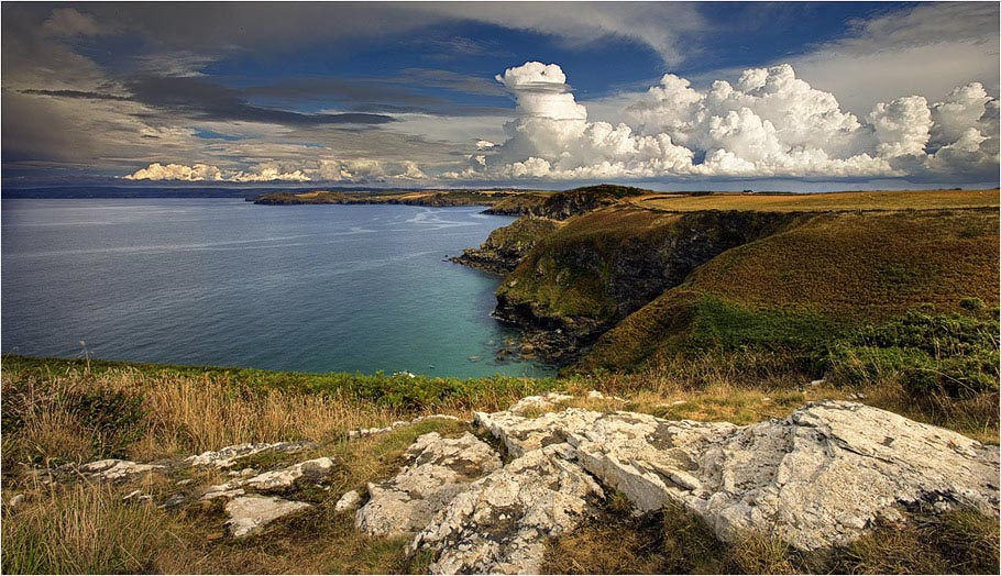 Cornish Coast. UK
