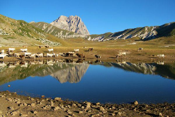 Corno Grande allo specchio (Gran Sasso d'Italia) - Abruzzo