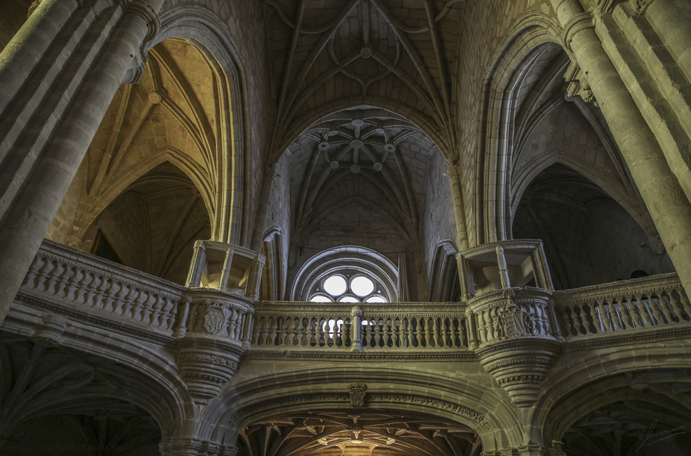 Coro Iglesia de Santa María la Mayor (Trujillo Cáceres Extremadura España)