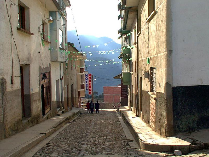 Coroico, Bolivia. Los Yungas