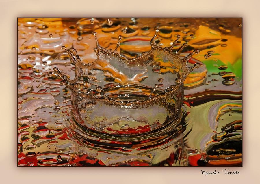 Corona en un espejo