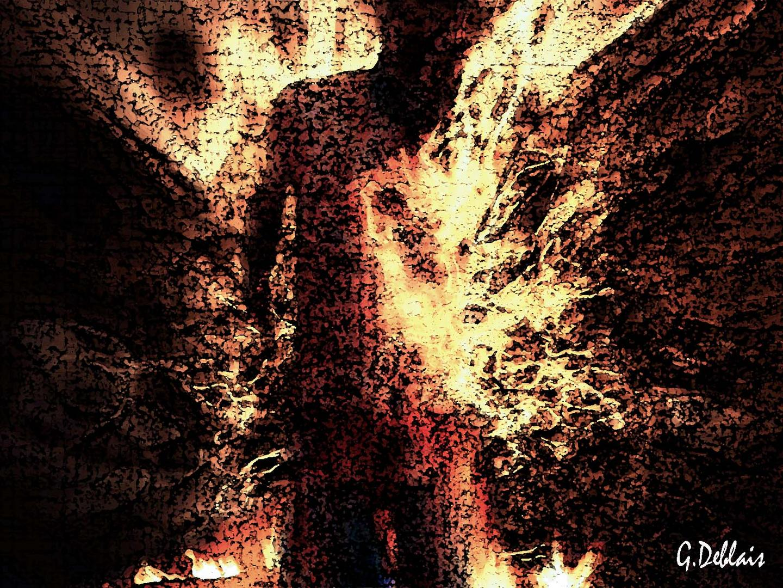 corps au enfer