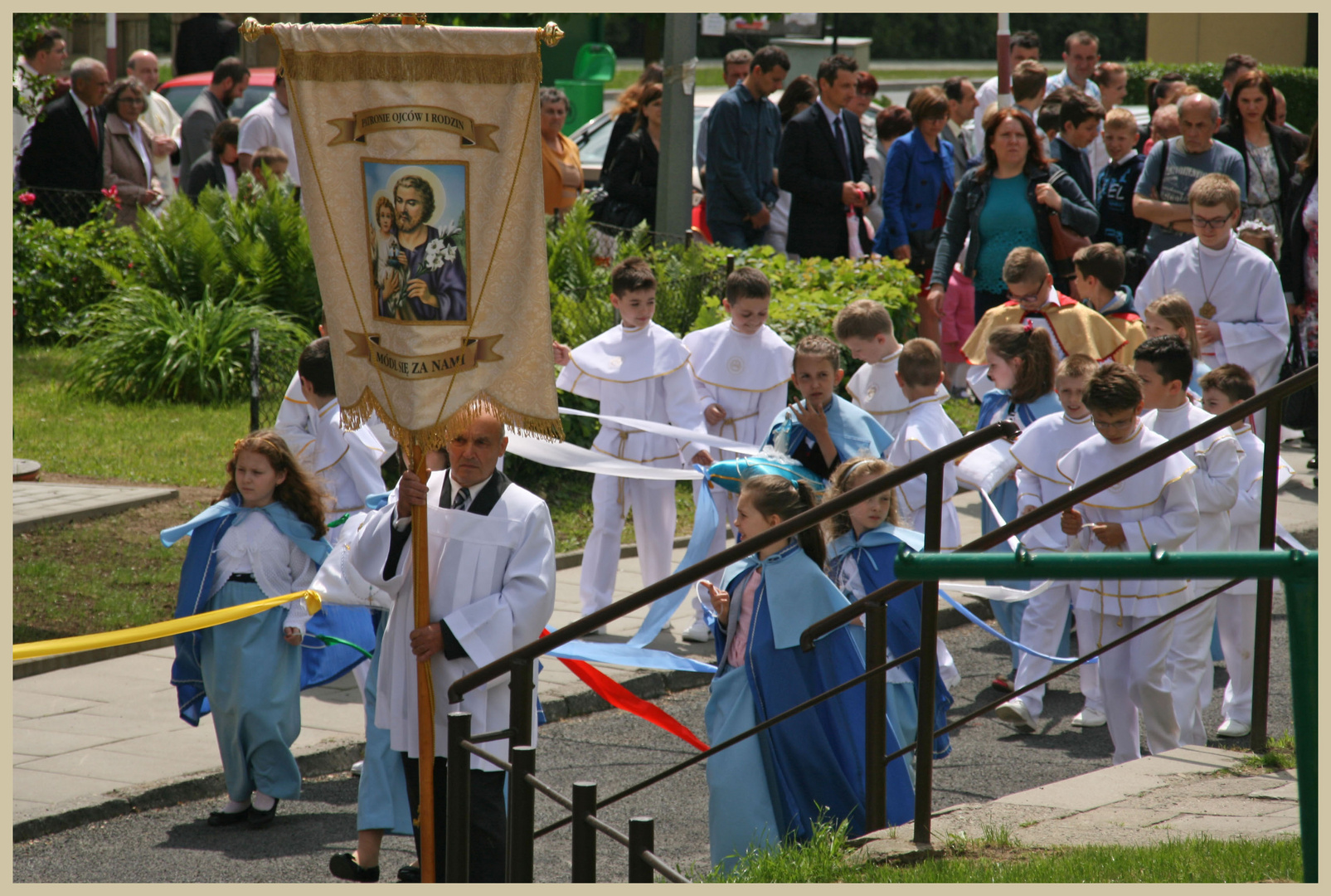 corpus christi procession gorlice Poland