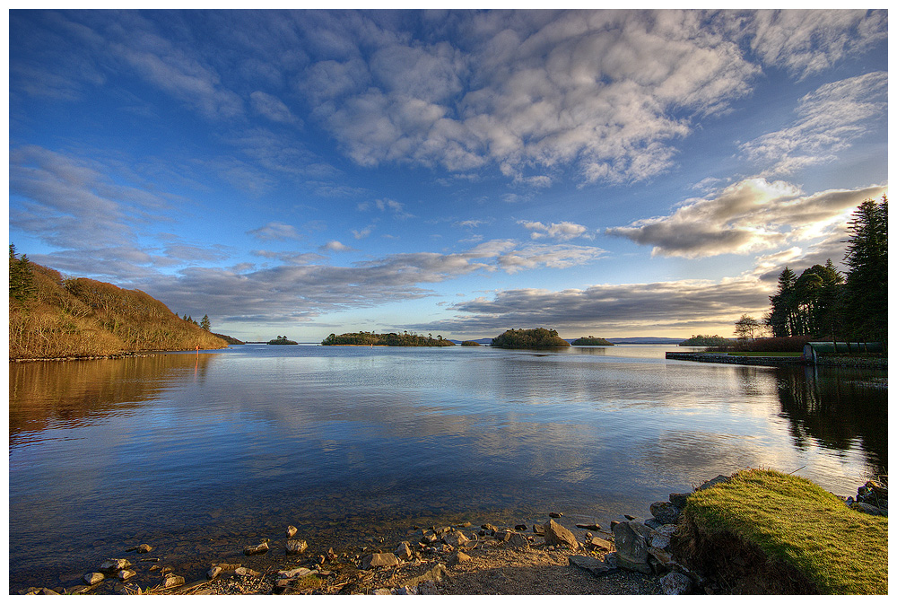 Corrib Lake view