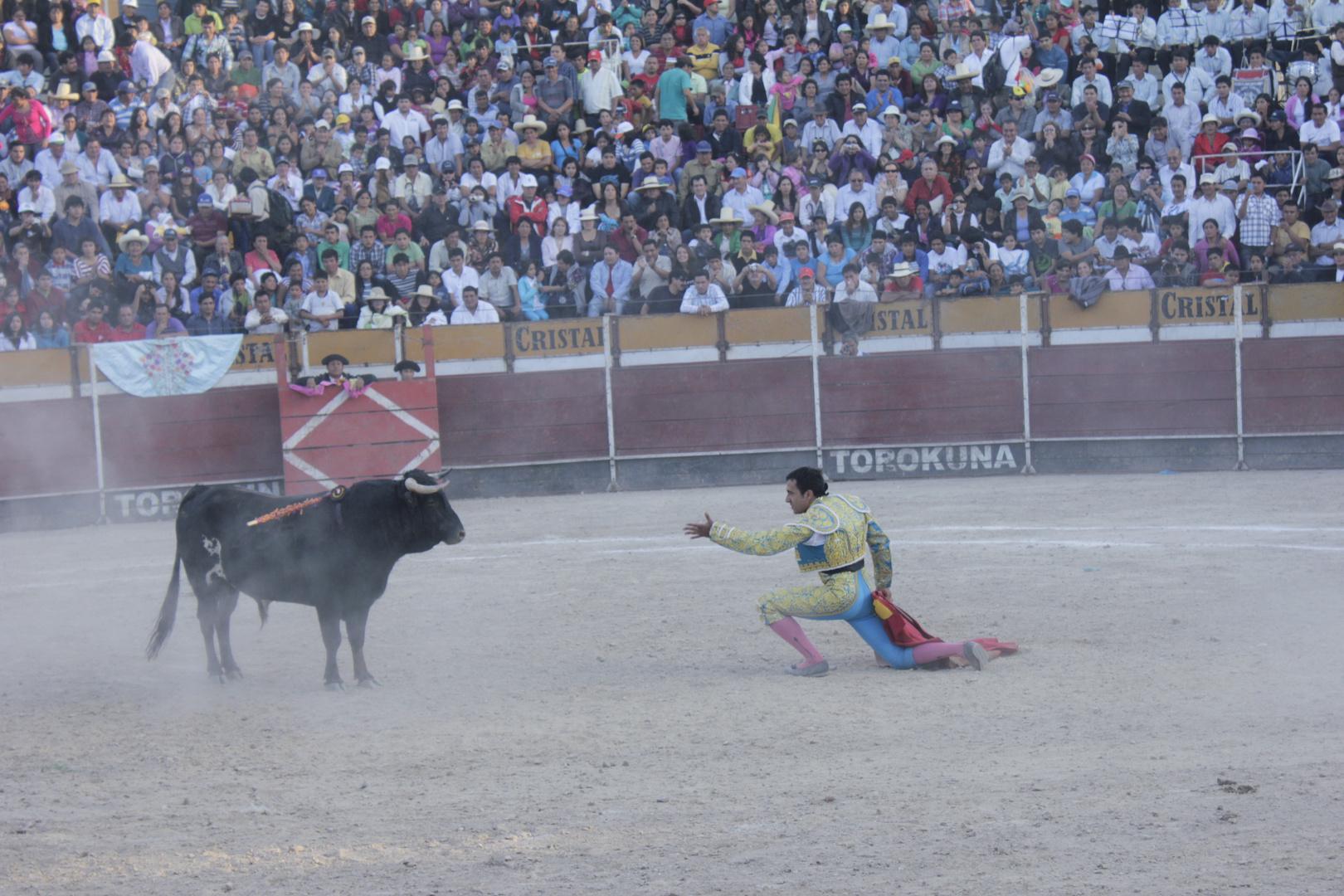 Corrida de Toros en San Marcos cajamarca