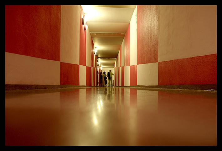 Corridoio Patafisico?effetto ottico?
