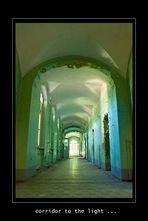 corridor to the light...