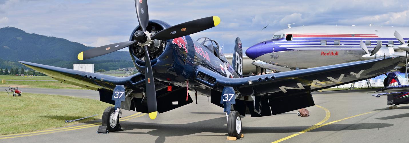 Corsair F4U Airpower 2013