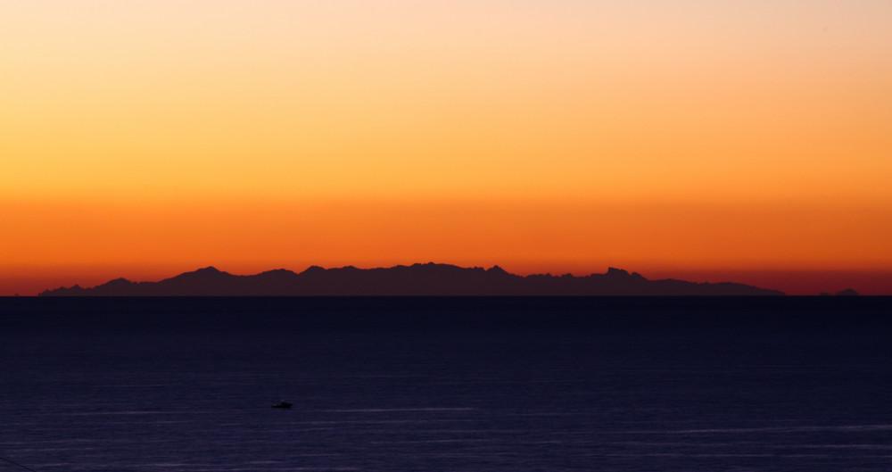 Corsica all'alba