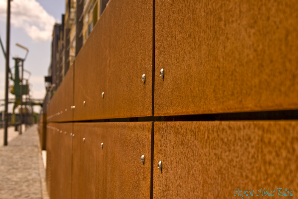 cortenstahl foto bild architektur stahlbau michael. Black Bedroom Furniture Sets. Home Design Ideas